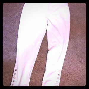 White express cropped leggings